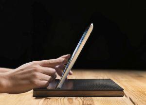 iPad eCase mit Carbon Deckel