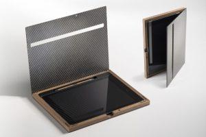 iPad Case - Luxery mit Carbondeckel
