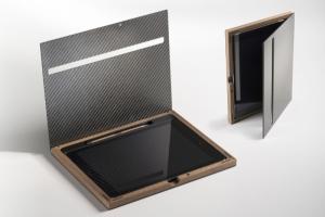 iPad Case Luxery mit Carbon-Deckel