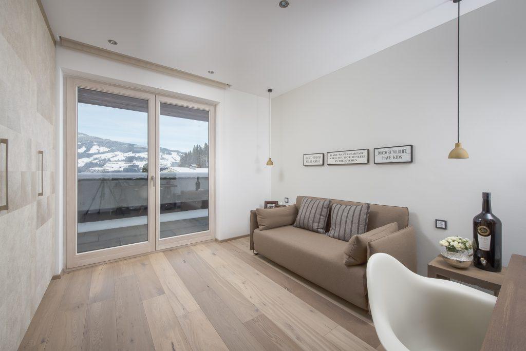 Immobilien Kitzbühel Villa Luxusimmobilie Modernes alpines Apartement
